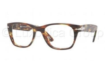Persol PO3039V Bifocal Prescription Eyeglasses 938-5019 - Green Striped Frame