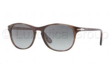 Persol PO3042S Sunglasses 972/71-5117 - Havana Brown/Smoke Frame, Crystal Gray Gradient Lenses
