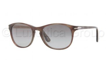 Persol PO3042S Sunglasses 972/M3-5117 - Brown Havana/Smoke Frame, Polarized Gray Gradient Lenses