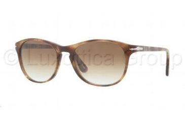 Persol PO3042S Bifocal Prescription Sunglasses PO3042S-979-51-5117 - Lens Diameter 51 mm, Frame Color Striped Beige