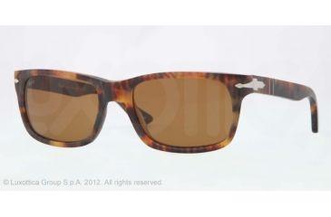 Persol PO3048S Sunglasses 900733-55 - Caffe' Antique Frame, Brown Lenses