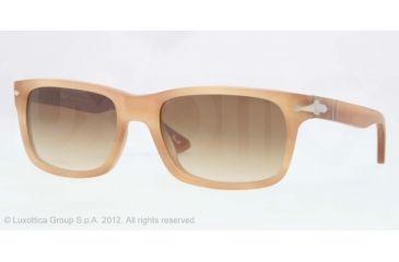 Persol PO3048S Sunglasses 900851-55 - Honey Havana Antique Frame, Gradient Brown Lenses