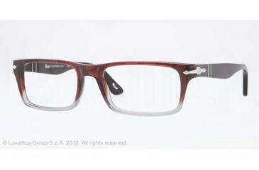 e0822670ff Persol PO3050V Eyeglass Frames 908-53 - Brown-red Gradient Smoke Frame