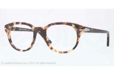 Persol PO3052V Bifocal Prescription Eyeglasses 9005-50 - Tabacco Virginia Frame, Demo Lens Lenses