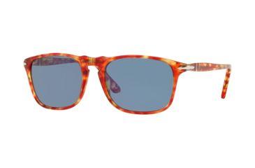370184465fa Persol PO3059S Sunglasses 106056-54 - Tortoise Red Frame