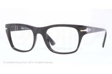 Persol PO3070V Bifocal Prescription Eyeglasses 95-52 - Black Frame