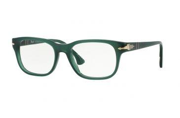 376a7e8c3b Persol PO3095V Progressive Prescription Eyeglasses 1001-53 - Opal Green  Frame