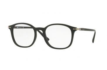 6b41e292cbf Persol PO3182V Eyeglass Frames 1042-51 - Matte Black Frame