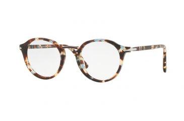 d39e103bfd Persol PO3185V Eyeglass Frames 1058-48 - Azure Brown Frame