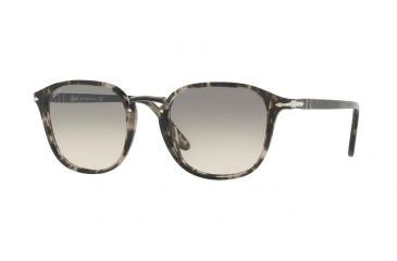 140963eac1 Persol PO3186S Sunglasses 106332-51 - Spotted Grey Black Frame
