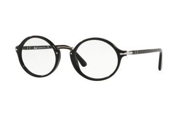943397c3ad Persol PO3207V Progressive Prescription Eyeglasses 95-51 - Black Frame