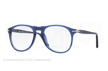 Persol PO9649V Bifocal Prescription Eyeglasses 1015-50 - Cobalto Frame