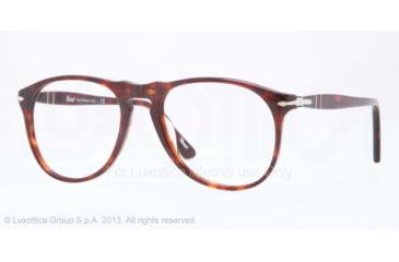 Persol PO9649V Bifocal Prescription Eyeglasses 24-50 - Havana Frame