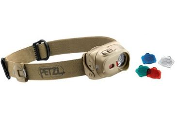 Petzl TACTIKKA XP Headlamp, Desert Tan, N/A E89 PD