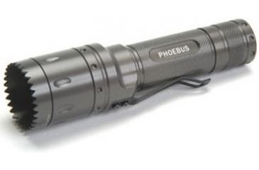 Phoebus 3W Weaponized Bezel Tactical Flashlight