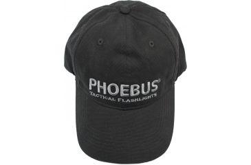 Phoebus Baseball Cap, Black