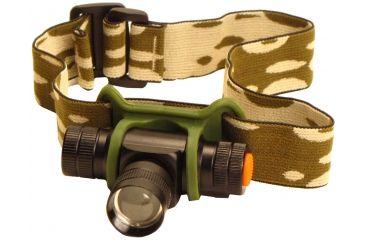 Phoebus Tactical RHL LED 3-Mode Rescue Focusing Headlamp with Strobe, Black, Medium RHL-5