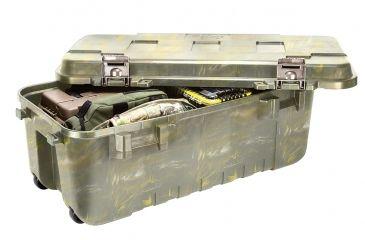 Plano Molding Bone Collector Series Sportsman 108 Qt Storage Trunk,37.75x14x18.25in,Green Camo 191920