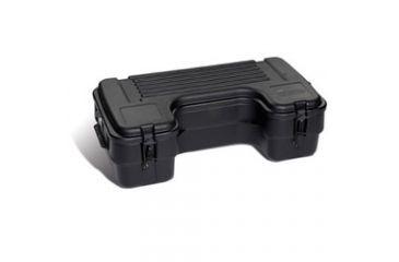 8-Plano Molding Rear Mount ATV Box w/ hinged cover - Black
