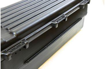 5-Plano Molding Rear Mount ATV Box w/ hinged cover - Black