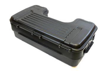 6-Plano Molding Rear Mount ATV Box w/ hinged cover - Black