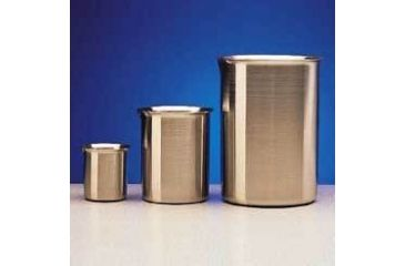 Polar Ware Griffin Beakers, Stainless Steel 250B