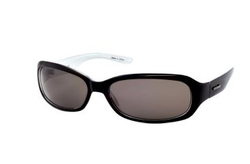 Polaroid Asbury Sunglasses - Black/White Pearl Frame, Polarized Dark Grey Lenses PD08823A