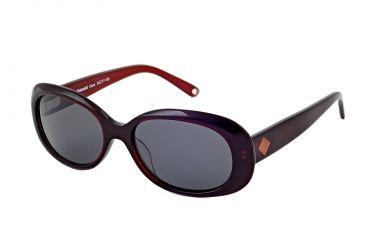 Polaroid Dana Bifocal Sunglasses, Burgundy Frame PDP9103YBF