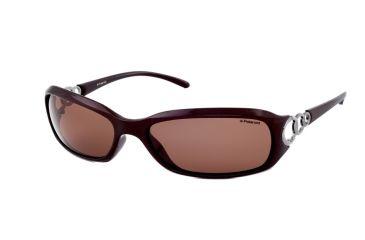 Polaroid Boutique Sunglasses - Black Frame, Polarized Grey Lenses PDP8017A