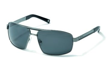 Polaroid Eyewear Anthony Sunglasses - Gun, Polar Grey Lenses PDX4104Y