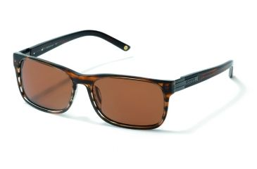 Polaroid Jerome Sunglasses - Brown, Polarized Copper Lenses PDX8100Y