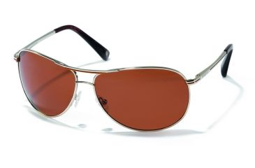 Polaroid Adam Progressive Sunglasses, Gold Frame PDX4114Y-PROG