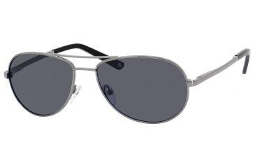Polaroid U 9306/S Single Vision Prescription Sunglasses U9306S-0B9W-1T-5616 - Lens Diameter 56 mm, Frame Color A / Gunmetal