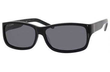 Polaroid U 9352/S Sunglasses U9352S-00CF-1T-5915 - A / Black Frame, Gray Polarized Lenses, Lens Diameter 59mm, Distance Between Lenses 15mm