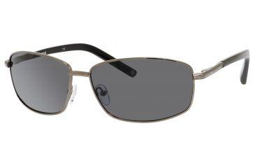 Polaroid X 4403/S Single Vision Prescription Sunglasses X4403S-0B9W-1T-6414 - Frame Color Gunmetal, Lens Diameter 64 mm