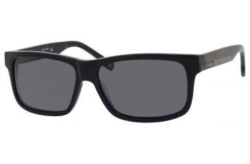 Polaroid X 8300/S Sunglasses X8300S-0KIH-1T-5915 - Black Frame, Gray Polarized Lenses, Lens Diameter 59mm, Distance Between Lenses 15mm