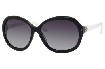 Polaroid X 8316/S Sunglasses X8316S-0KIH-ML-6115 - A / Black Frame, Gray Gradient Polarized Lenses, Lens Diameter 61mm, Distance Between Lenses 15mm