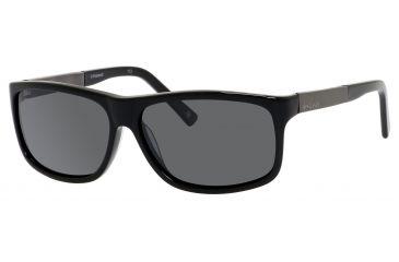 Polaroid X 8416/S Sunglasses X8416S-0BC5-1T-5913 - Black Gunmetal Frame, Gray Polarized Lenses, Lens Diameter 59mm, Distance Between Lenses 13mm