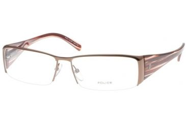Police 8151 Brown Eyeglasses Frame, K01