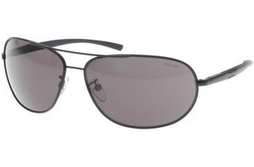 Police 8182 Sunglasses, Matte Black