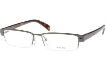Police 8277 Eyeglasses Frame, Gunmetal Tortoise
