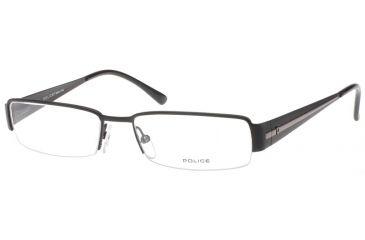 Police 8445 Eyeglasses with Matte Black Frame