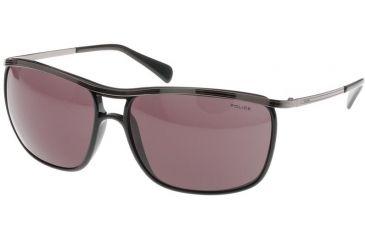 Police Sunglasses 8293, Gunmetal Black