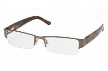Polo PH1067 SV Prescription Eyeglasses Light Brown Frame / 52 mm Prescription Lenses, 9118-5217