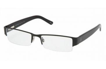 ace2863f633 Polo PH 1067 Eyeglasses Styles Matte Black Frame w Non-Rx 52 mm Diameter