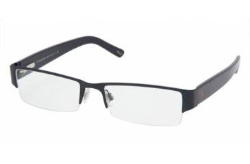 Polo PH1067 SV Prescription Eyeglasses Matte Blue Frame / 52 mm Prescription Lenses, 9119-5217