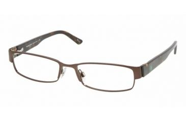 Polo PH 1083 Eyeglasses w/ Brown Frame and Non-Rx 54 mm Diameter Lenses, 9013-5417