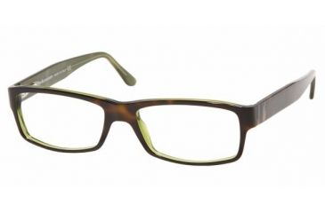 Polo PH 2015 Eyeglasses Styles Top Havana/Green Frame w/Non-Rx 52 mm Diameter Lenses, 5016-5216, Polo Sport PH 2015 Eyeglasses Styles Top Havana/Green Frame w/Non-Rx 52 mm Diameter Lenses