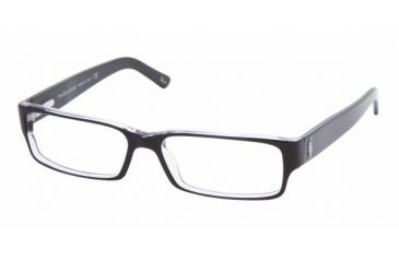 65fbc8501aa Polo PH 2039 Eyeglasses Styles Top Black Crystal Frame w Non-Rx 52