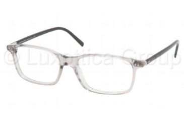 54cbbfa288 Polo PH 2048 Eyeglasses Styles Gray Transparent Frame w Non-Rx 54 mm  Diameter